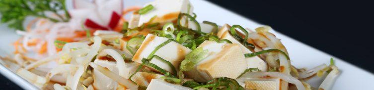Tofu Cipollotti e Germogli di Soia